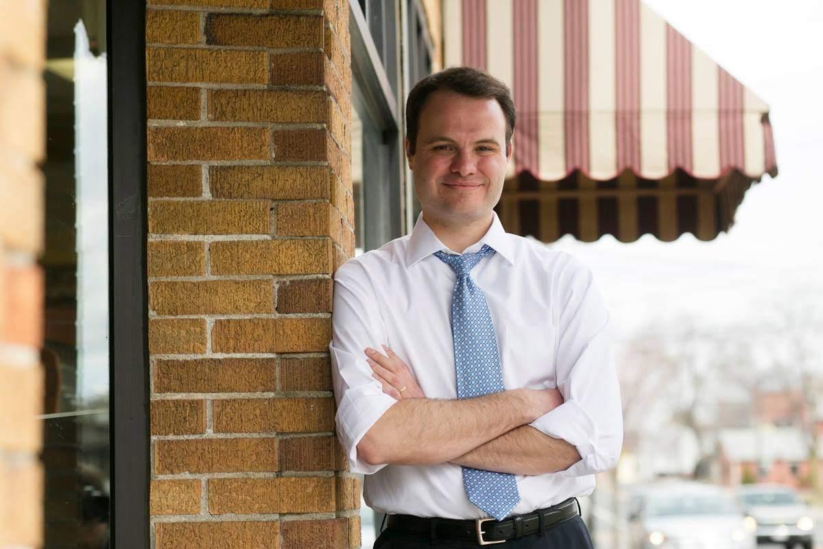 State Senator Eric Lesser